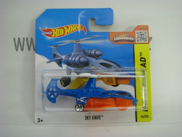 Hot Wheels 2015 Sky Knife HW Off-Road CFM08